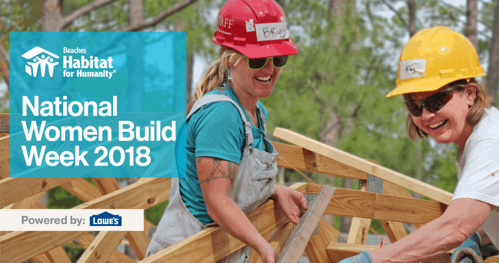 National Women Build Week 2018 | Powered by Lowes