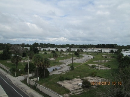 The abandoned property at 201 Mayport Road in 2013
