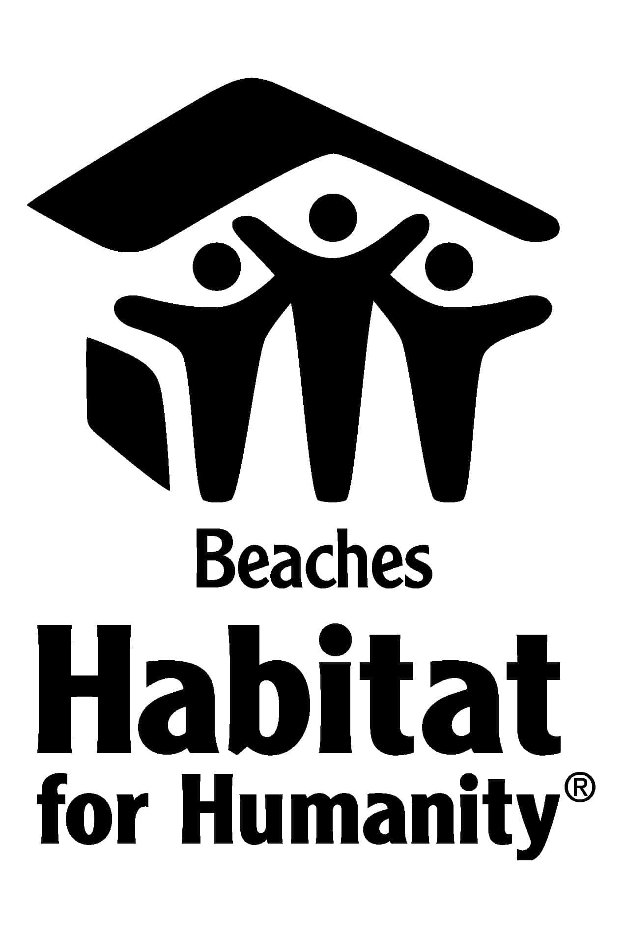 Beaches Habitat for Humanity Logo
