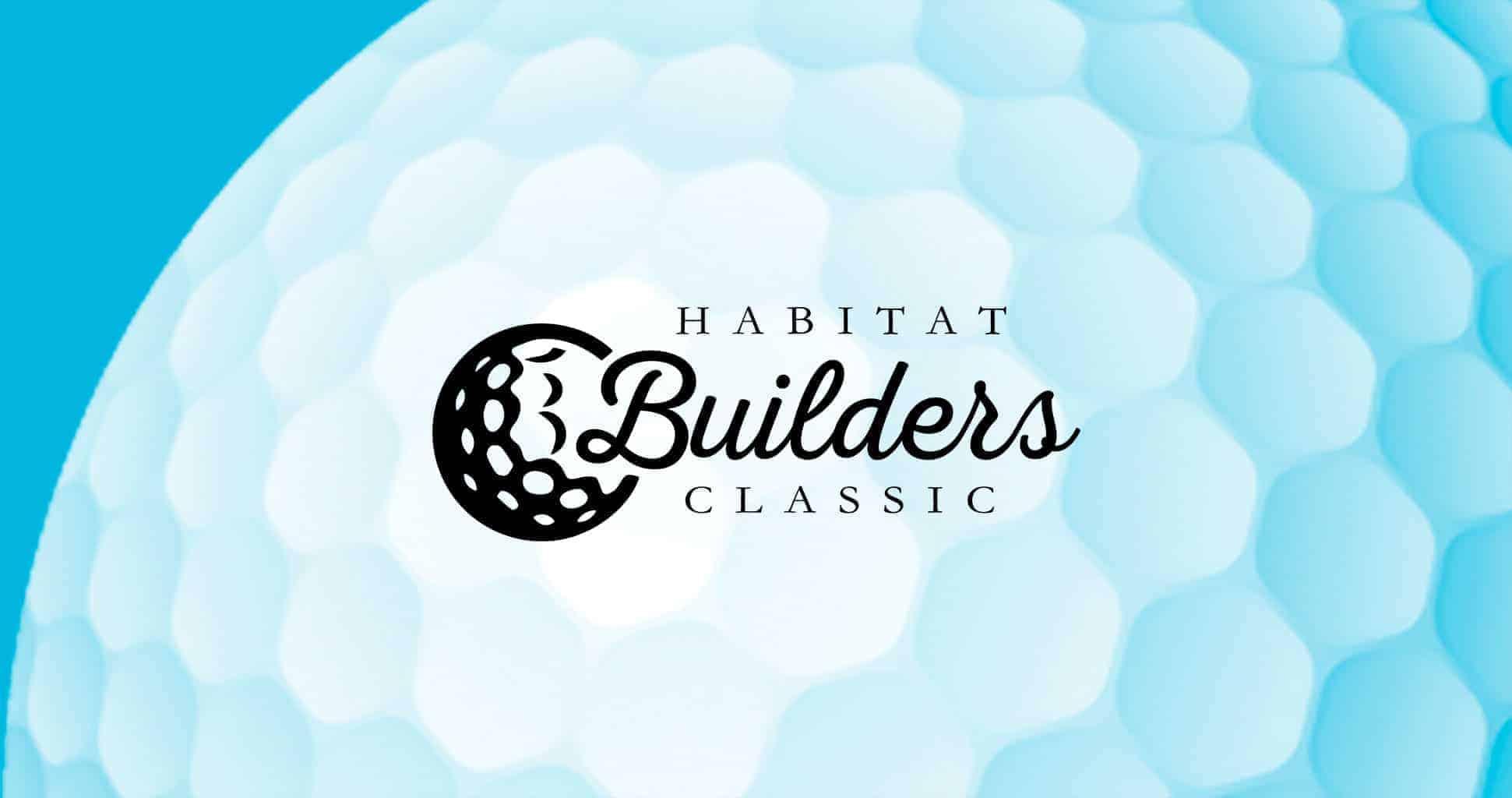 Builders Classic logo on golf ball