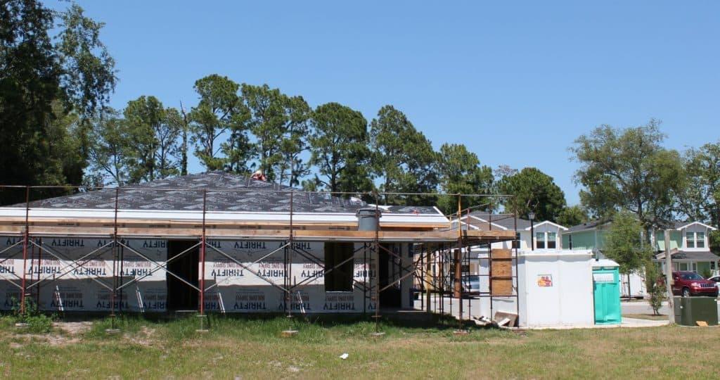 Image of recent progress in Haywood Estates 2