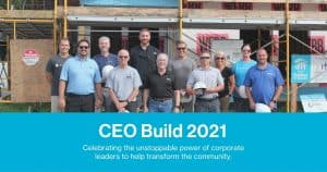 Group photo, CEO Build 2021