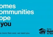 homes, communities, hope + you. Now more than ever, we need you.